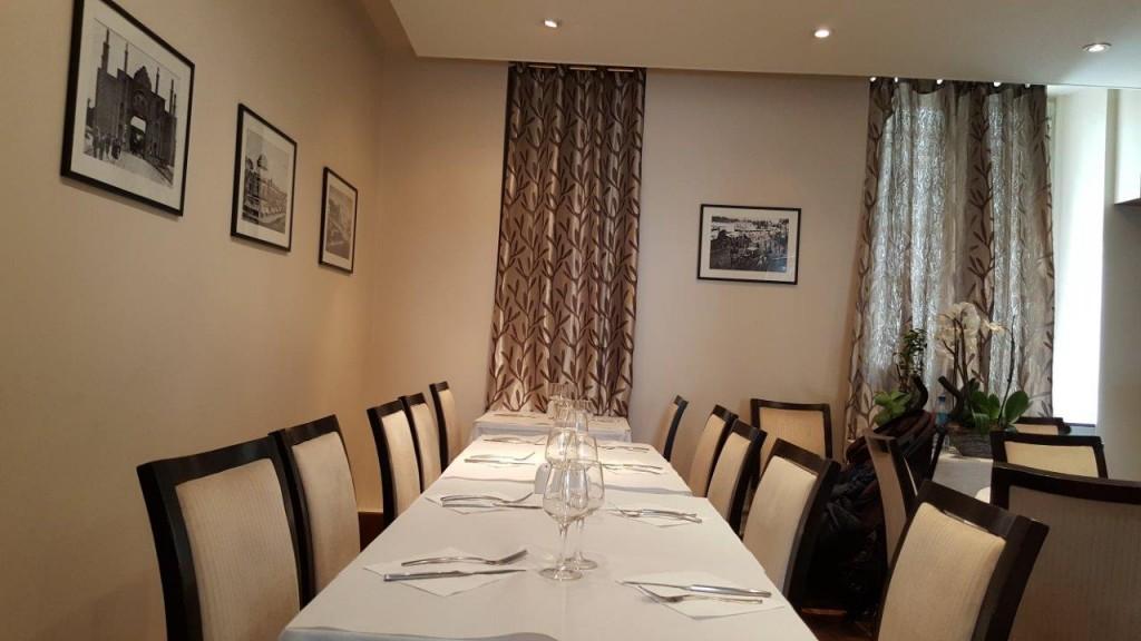 Intérieur du restaurant Cheminée