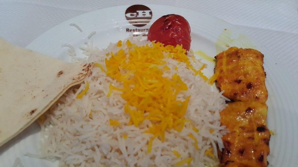 Djoudjeh Kabab désossé - morceaux de blancs de poulet au safran