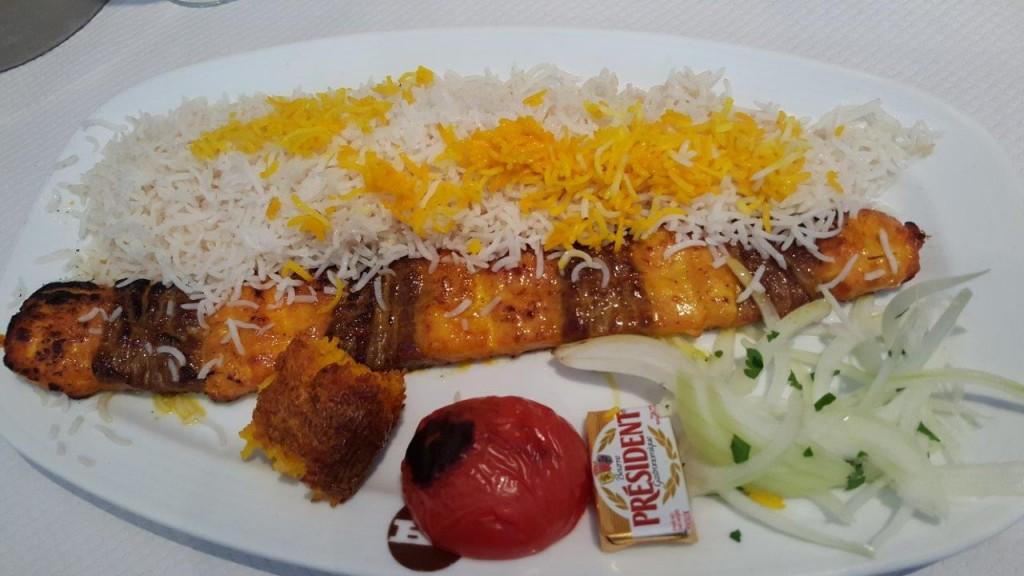 Bakhtiari - Filet d'agneau et blanc de poulet