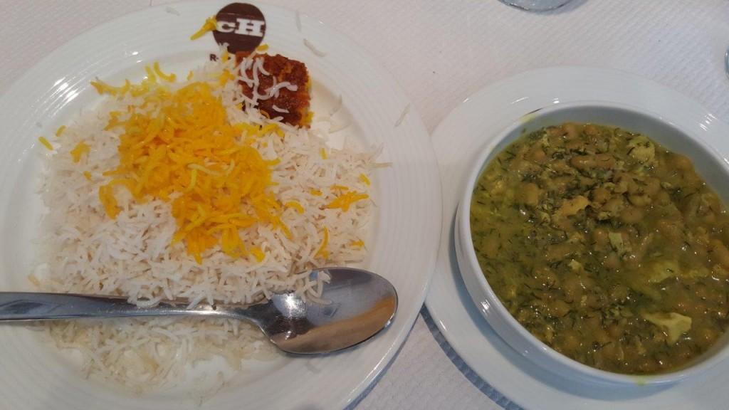 Baghala Ghatogh - Sauce à base de fèves, aneth, oeuf (spécialité du nord de l'Iran)