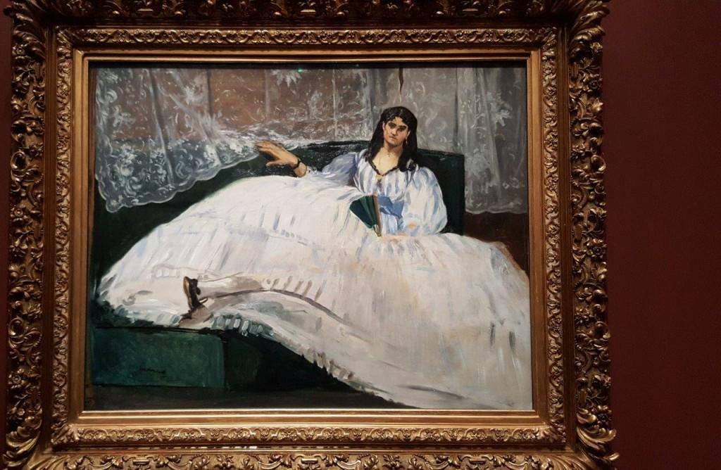 Edouard Manet La Maîtresse de Baudelaire