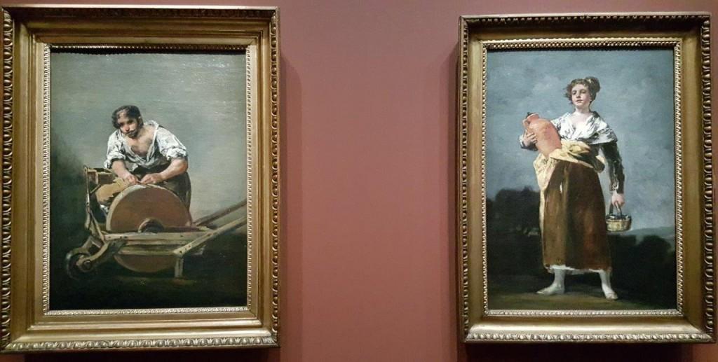 Francisco de Goya Le remouleur - La porteuse d'eau