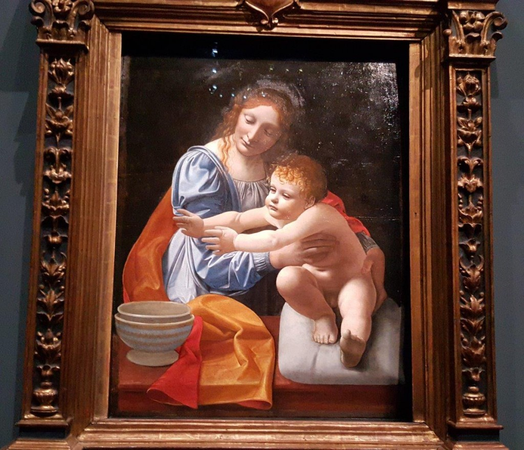 Giovanni Antonio Boltraffio Vierge à l'enfant