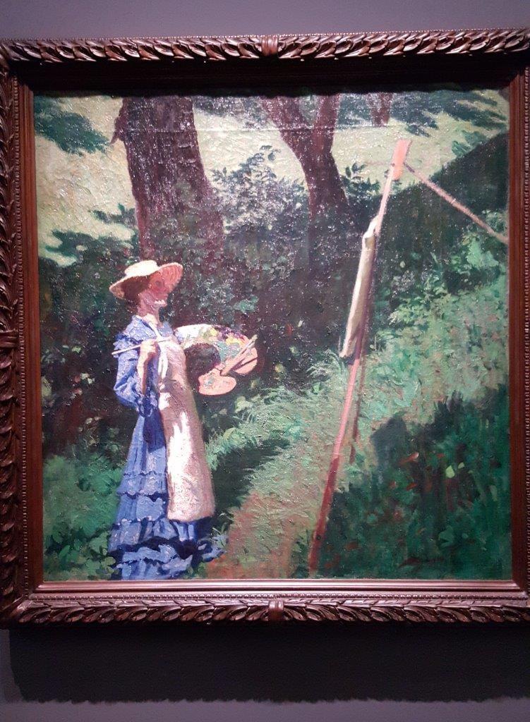 Karoly Ferenczy La femme peintre