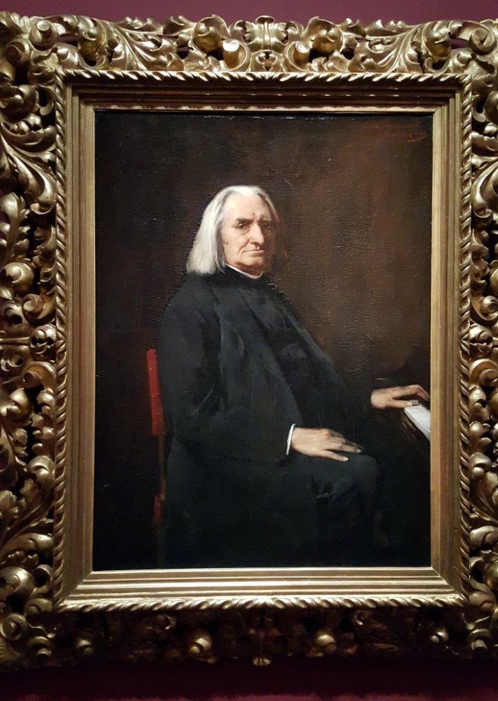 Mihaly Mukacsy Portrait de Franz Liszt