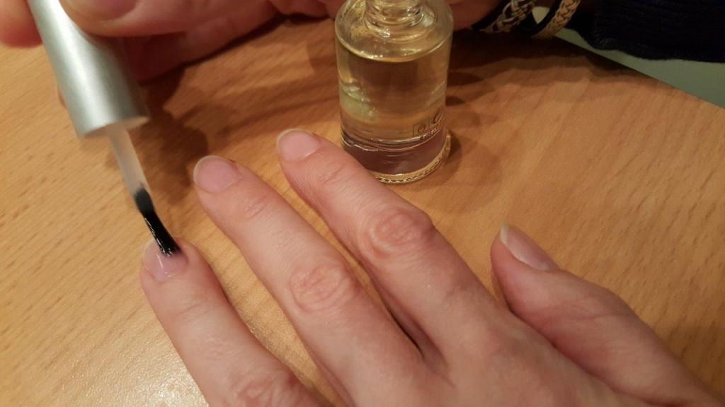 Test du soin des ongles