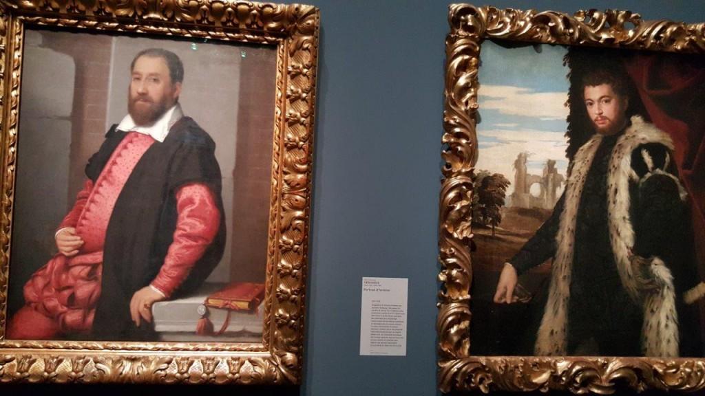 Veronese Portrait d'homme - Giovanni Battista Moroni Portrait de Jacopo Contarini,