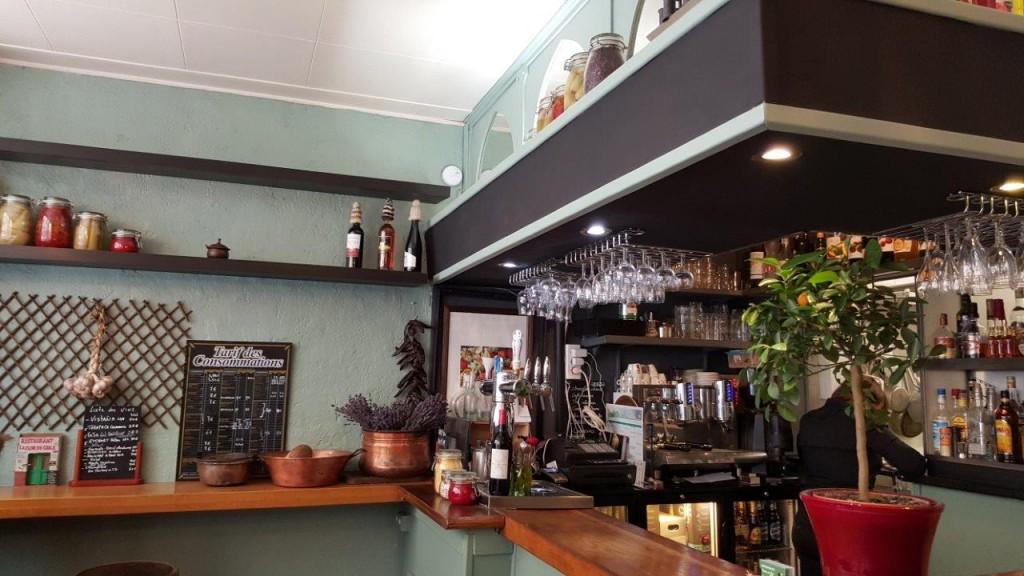 Intérieur du restaurant Terres du Sud