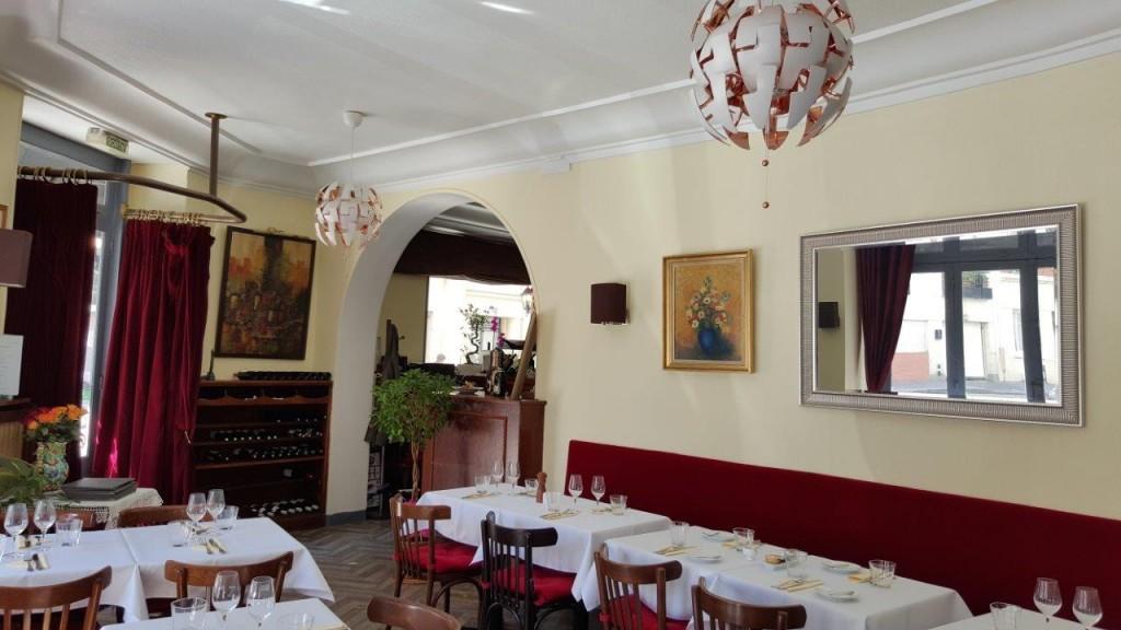 Intérieur du restaurant Le Granite