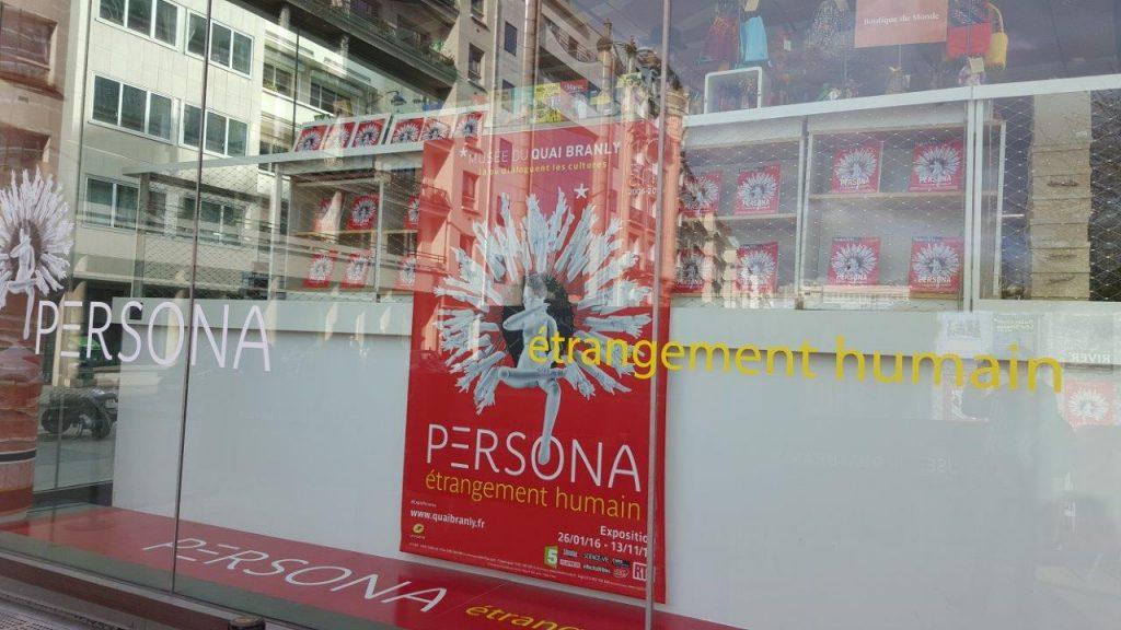 Affiche de l'exposition Persona