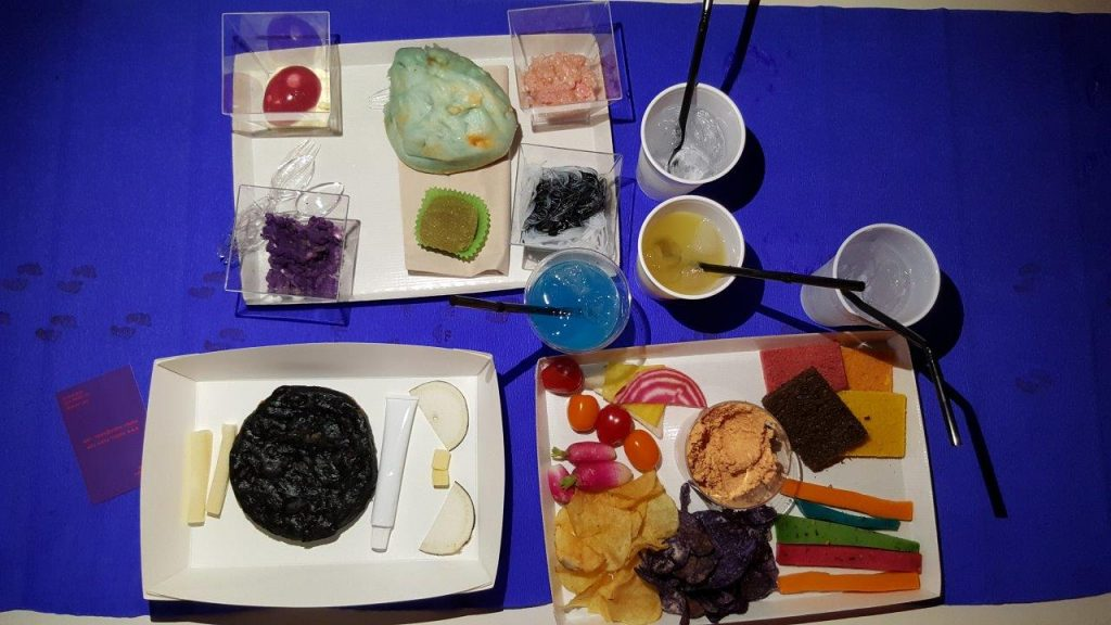 Un plateau repas original