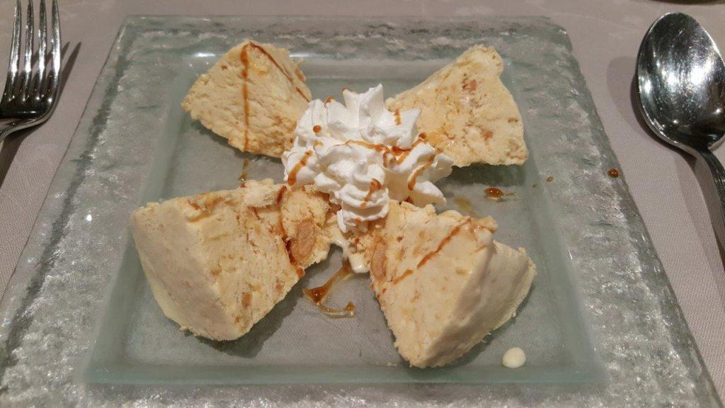 Crème glacée au turron
