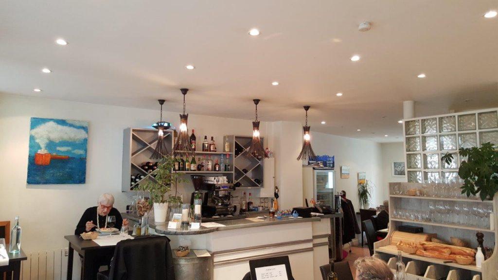 Intérieur du restaurant Le Même en Rêve