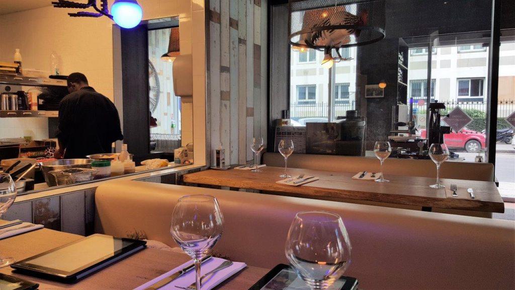 Intérieur du restaurant Les Turbulentes