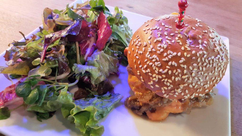 Burger des Turbulentes (menu pioupiou)