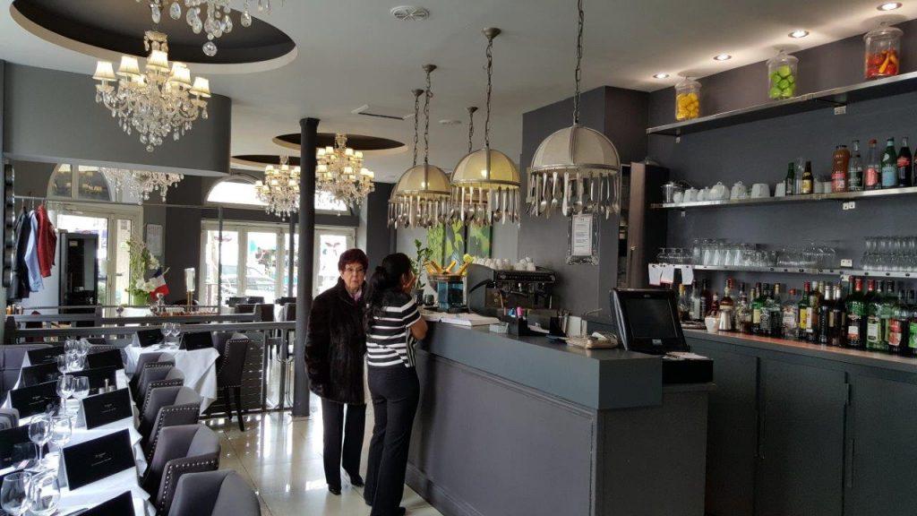 Intérieur du restaurant Le Swann