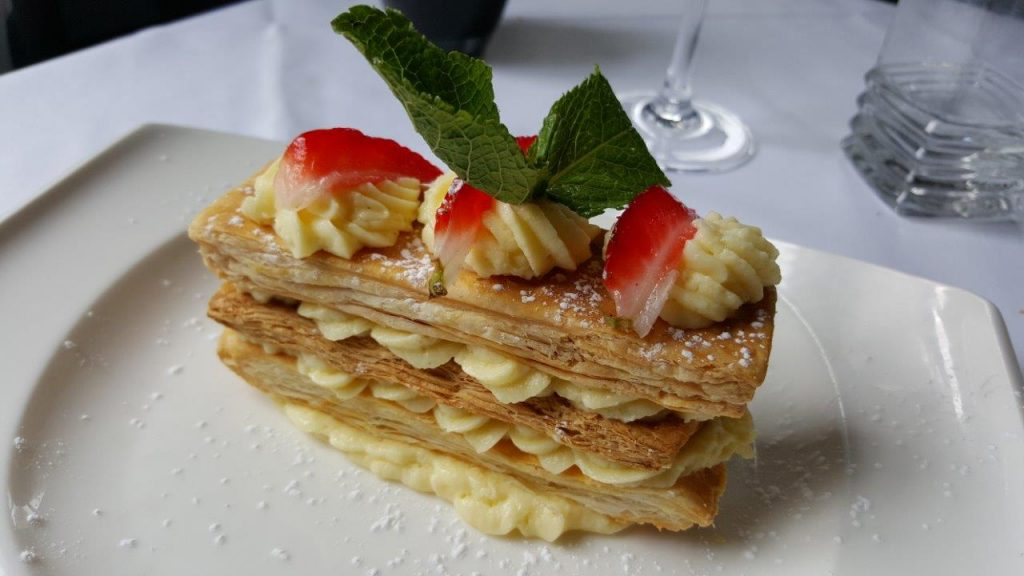 La belle part de millefeuille