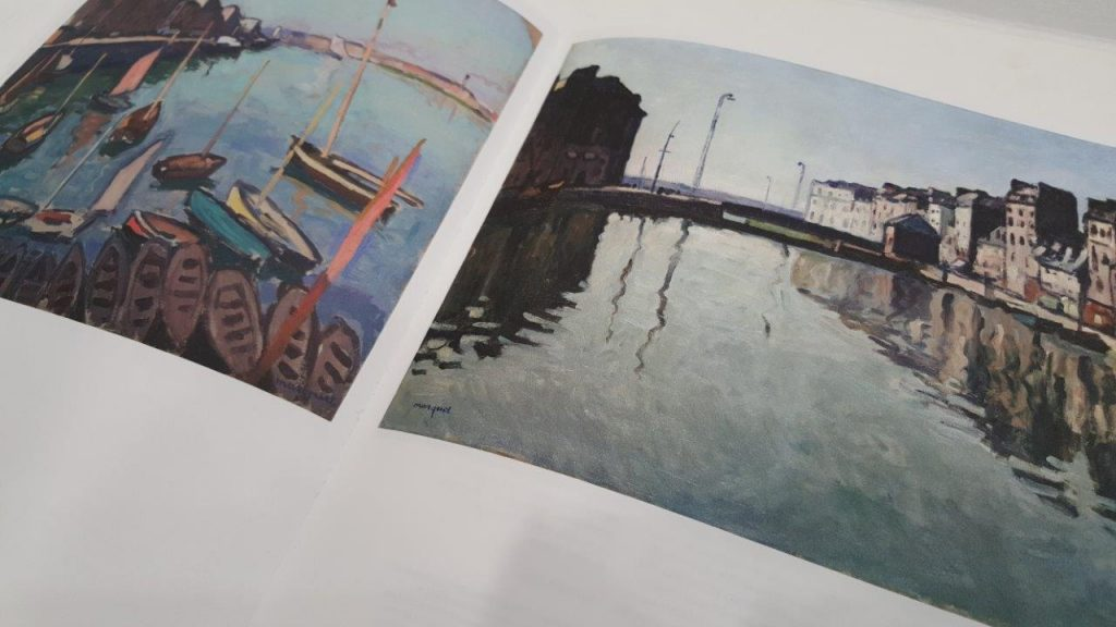 Catalogue de l'exposition Albert Marquet