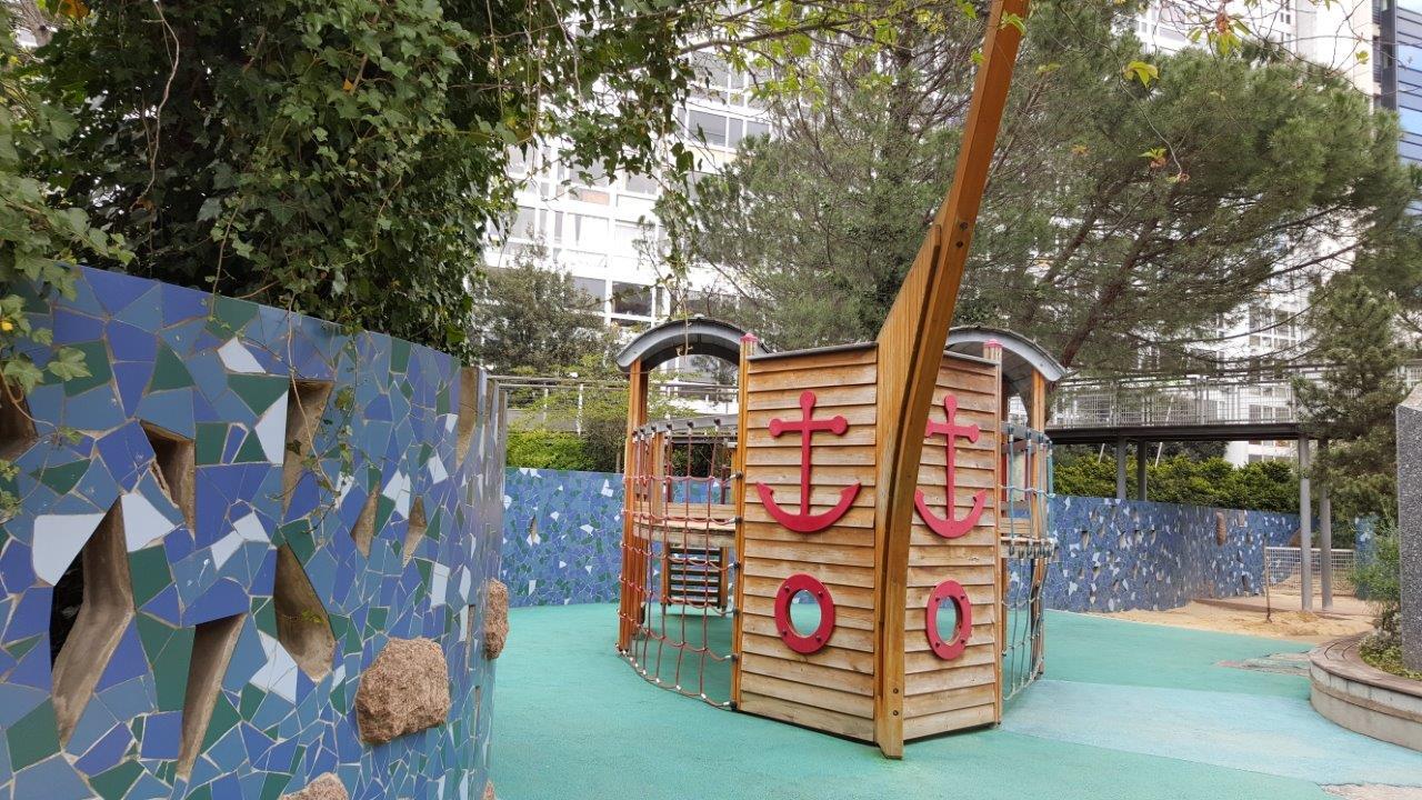 aires de jeux - Jardin Atlantique