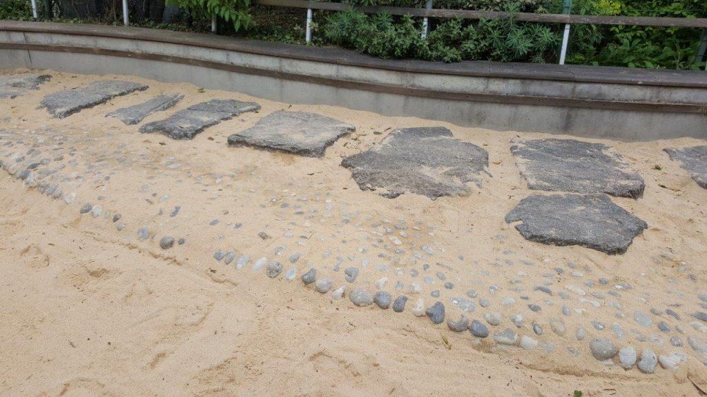 galets et sables