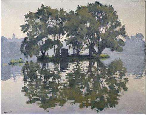 Albert Marquet (1875-1947), L'île aux Cygnes, Herblay 1919 © ADAGP, Paris 2016