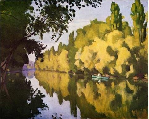 Albert Marquet (1875-1947), La Varenne SaintHilaire, la barque, 1913 © Richard Nathanson, Londres / ADAGP, Paris 2016