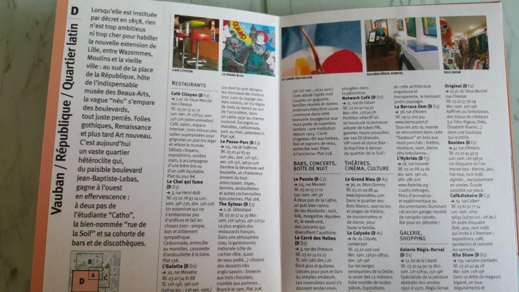 guide « Lille et l'Eurométropole – Cartoville »