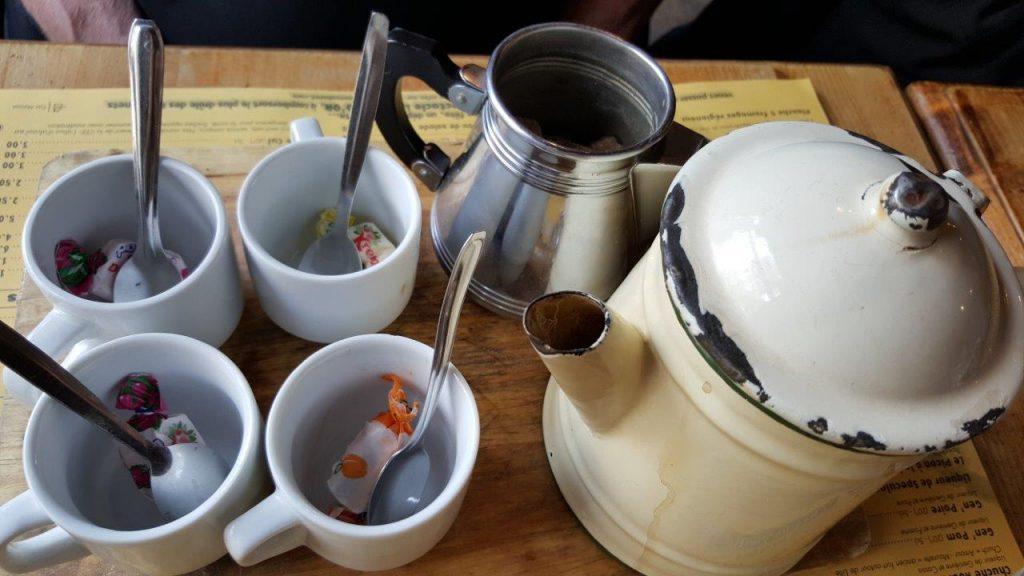 café à l'ancienne avec une pointe de Chicorée