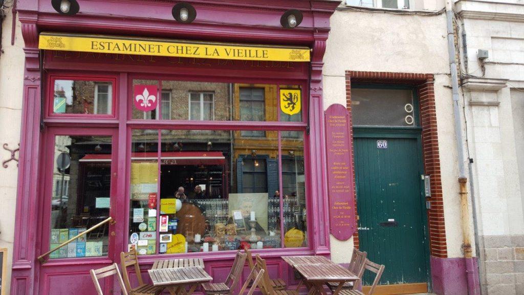 'estaminet Chez la Vieille à Lille