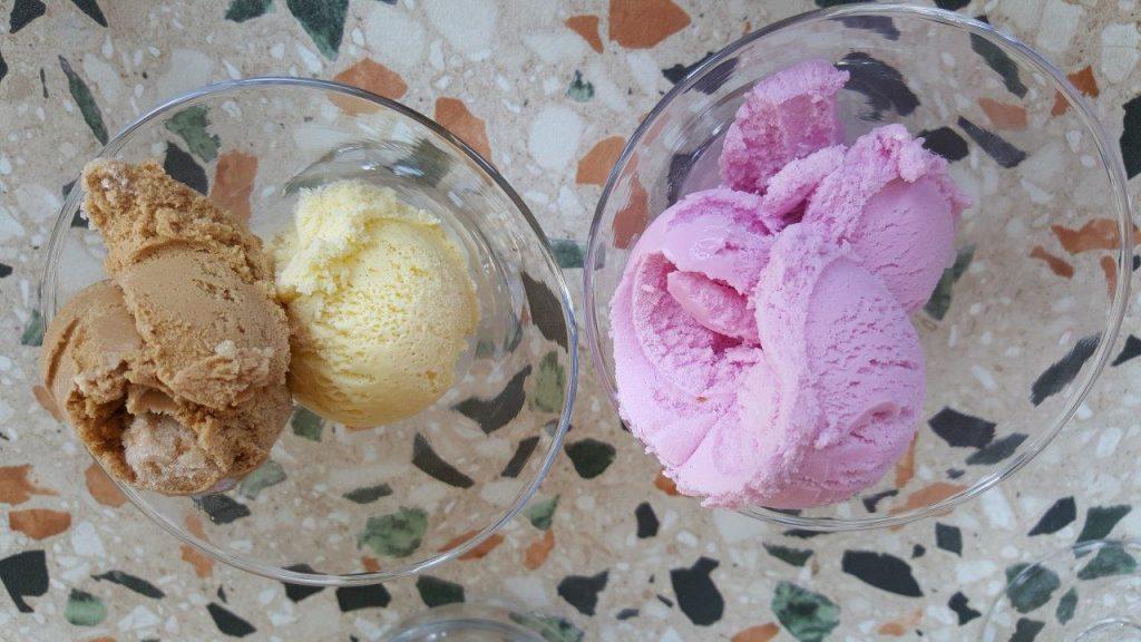 glaces (menu enfant)