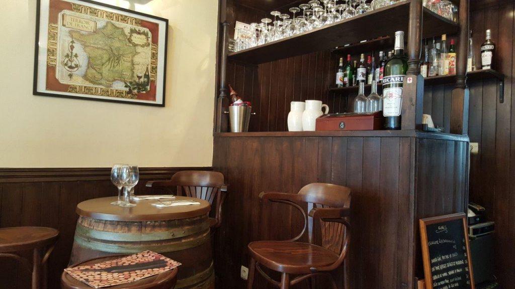 Intérieur de La Table de Geneviève