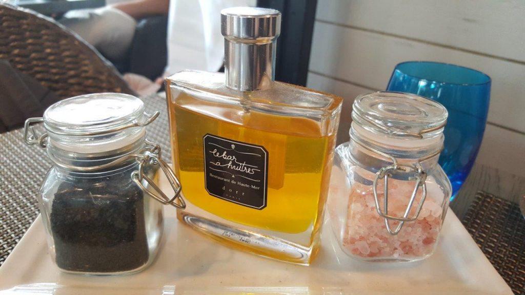Sels et huile d'olive