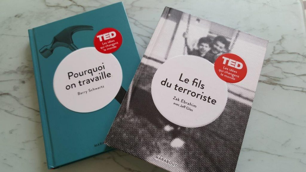 Collections livres TED