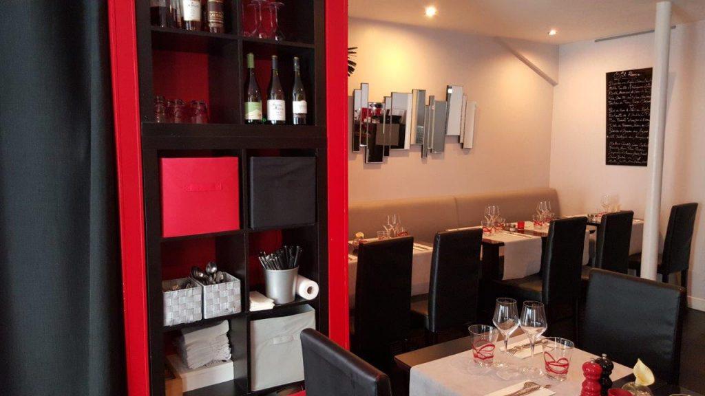 Intérieur du restaurant O Fil Rouge