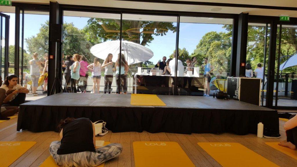Cour de Yoga