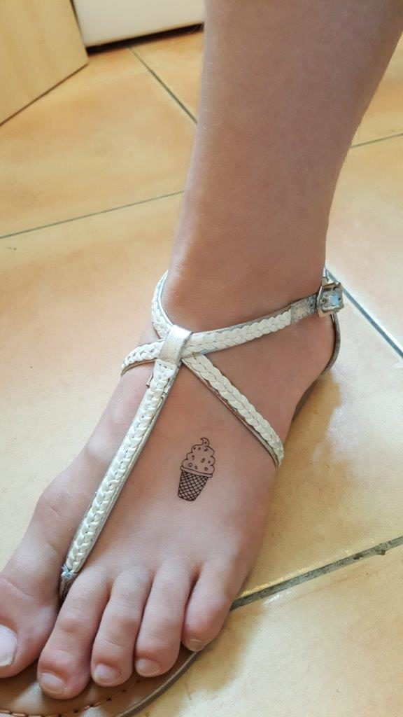 "Essai des tattoos éphémères inédits, édition ""Sensual Summer"""