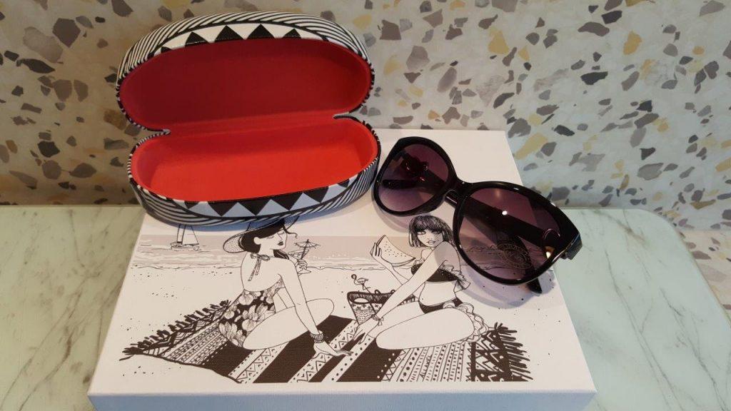 lunettes de soleil de Marc labat