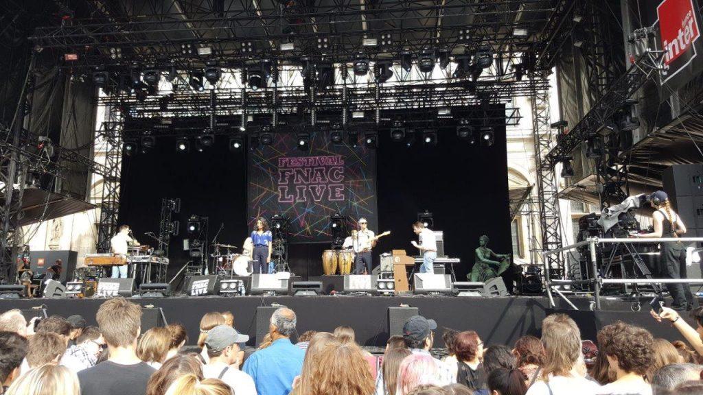 Festival Fnac Live : Bon voyage organisation