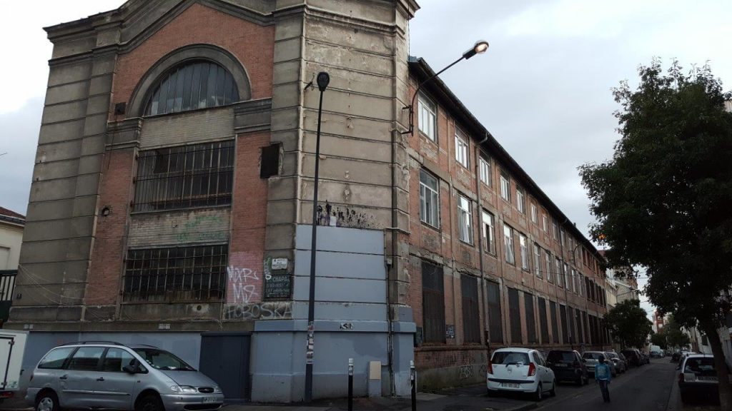 Anciennes usines