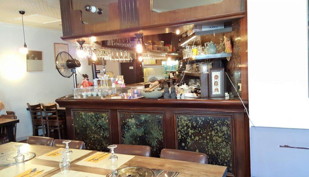Intérieur du restaurant Les Quatre Saisons