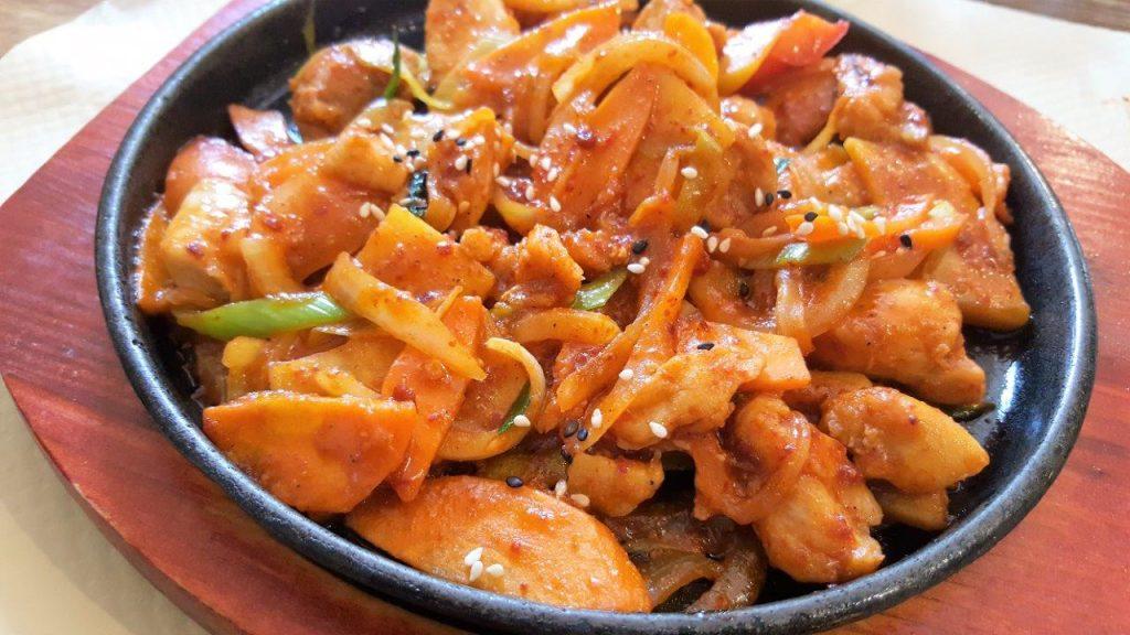 Poulet aux patates douces