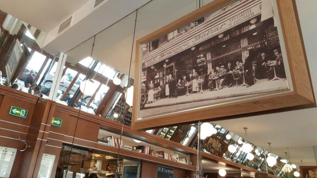 Intérieur de la Brasserie Balzar
