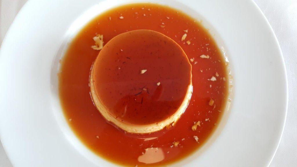 Crème caramel (menu enfant)