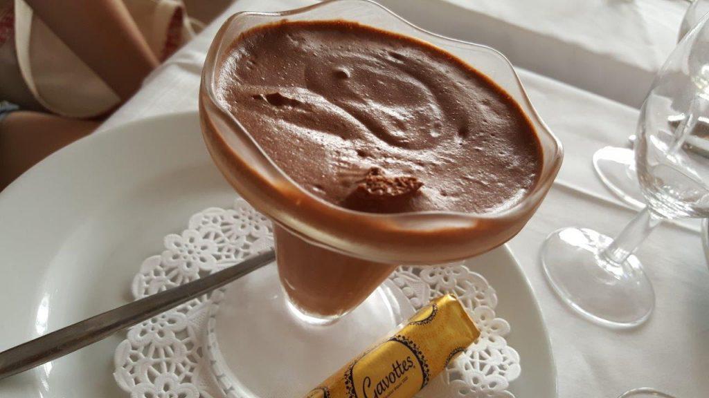 Mousse au chocolat (menu enfant)