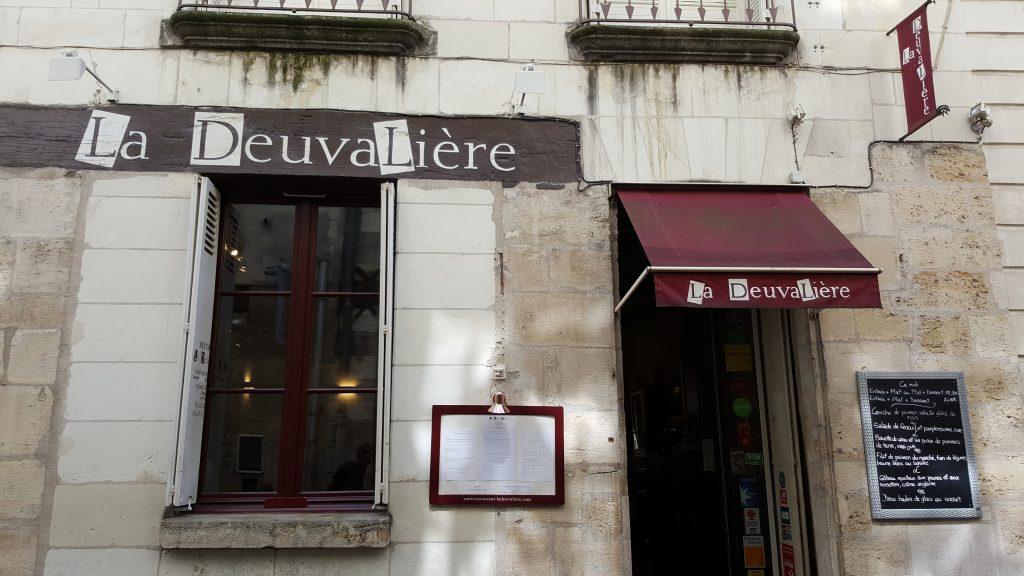 Le restaurant La Deuvalière à Tours
