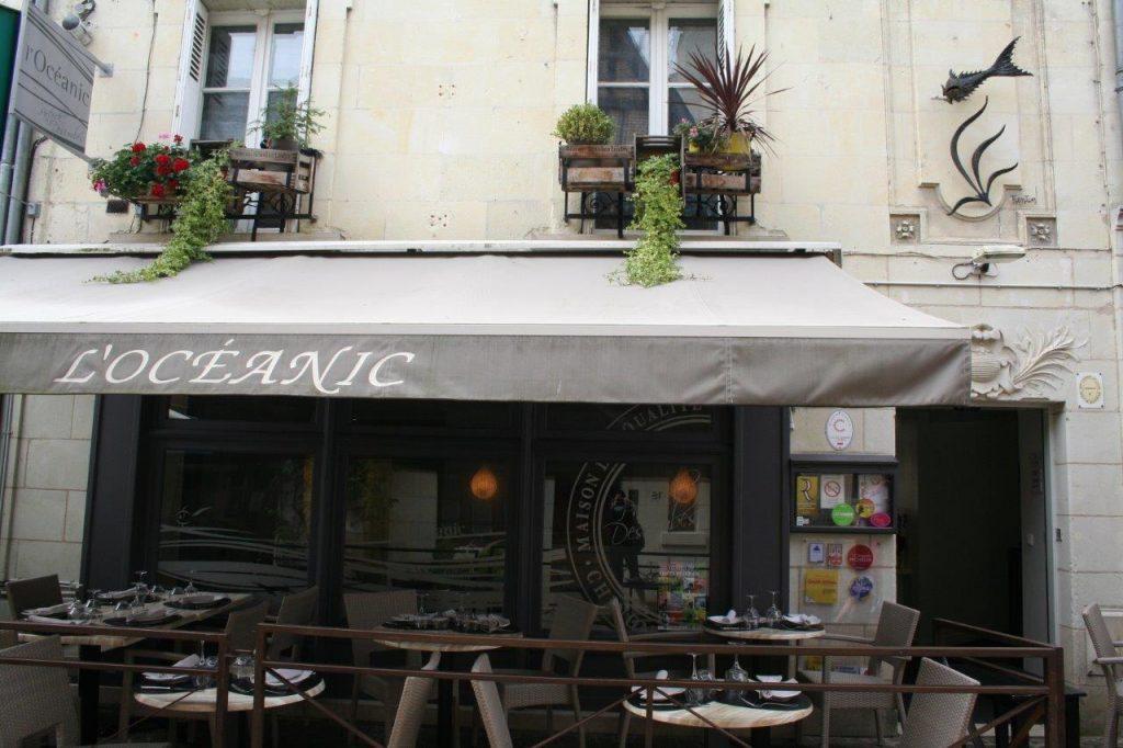 Le restaurant Oceanic à Chinon