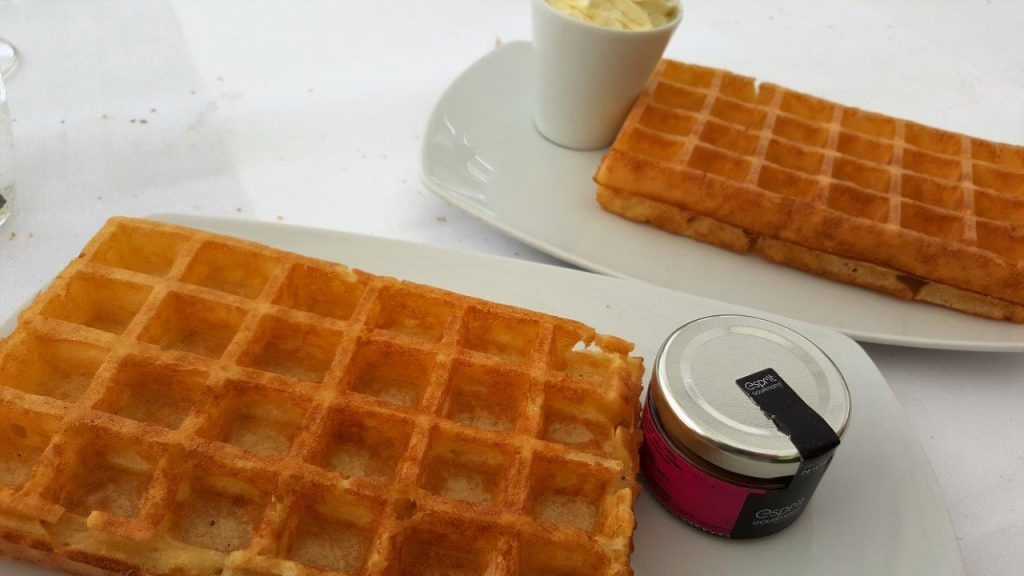 Gaufre chantilly (menu enfant)