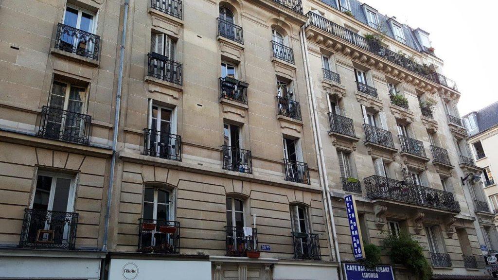 immeuble où vécut Sadeg Hedayat