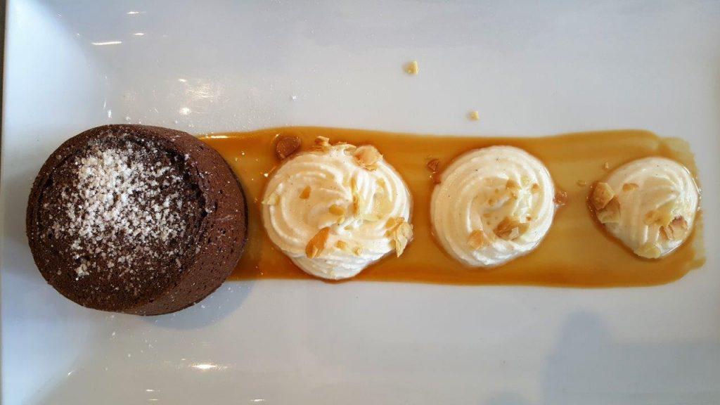 Moelleux au chocolat (menu enfant)