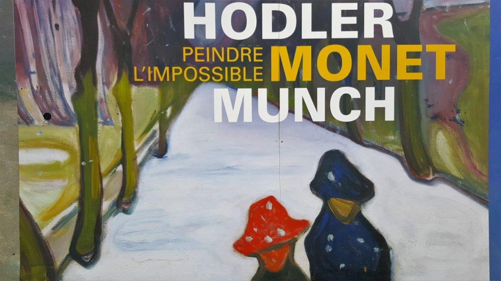 Exposition Hodler, Monet, Munch